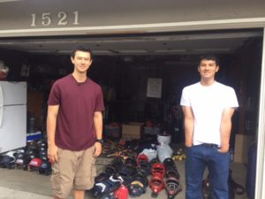 Richmond College Prep School receives baseball gear to replace burglarized