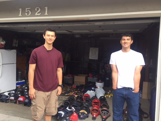 Richmond College Prep School receives baseball gear to replace burglarized